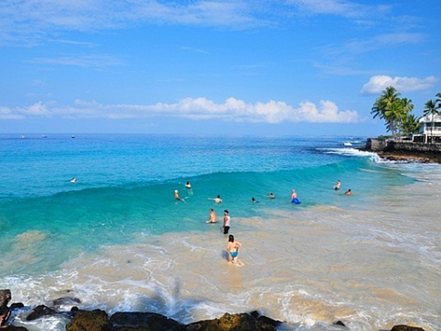 La'aloa Bay/ Magic Sands/ White Sands Beach Park (Kailua-Kona)