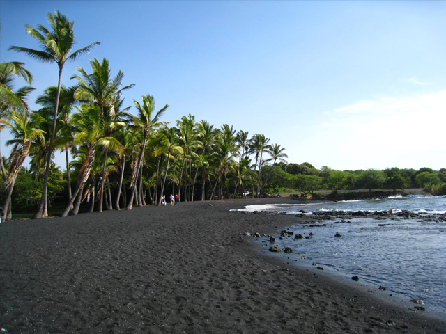 Punaluu Black Sand Beach (South Point)