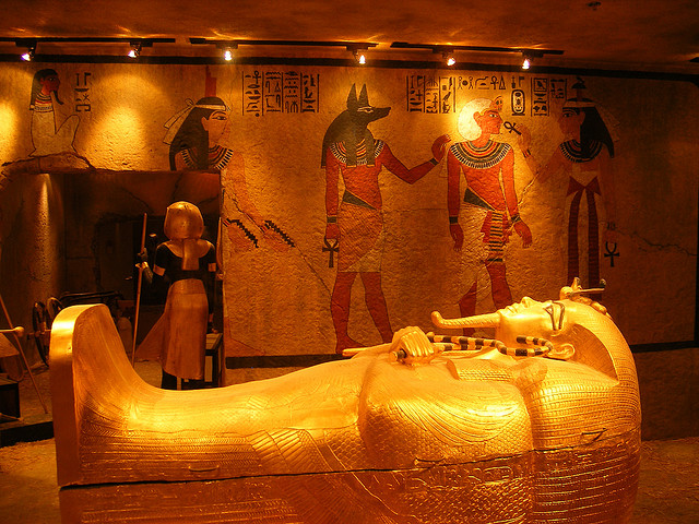The Tomb and Museum of King Tutankhamen (King Tut's Tomb and Museum)