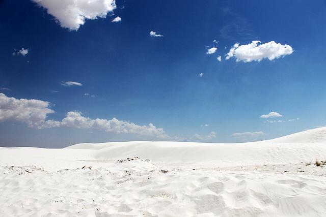 Белые пески Нью Мексико (White Sands, NM)