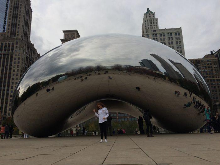 Зеркальный боб из Чикаго | Cloud Gate or Bean, Chicago