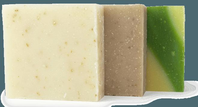 Кусковое мыло не рекомендуется для мягкого очищения кожи