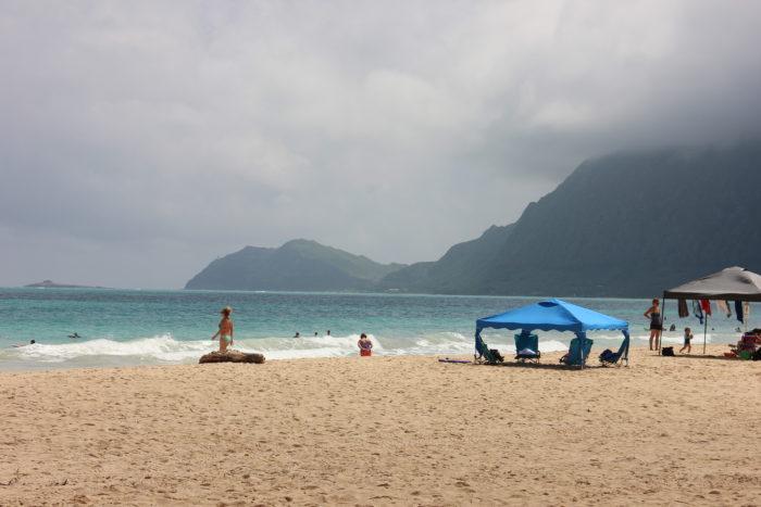 Bellows Field Beach Park, Oahu, Hawaii | Лучшие пляжи острова Оаху, Гаваи