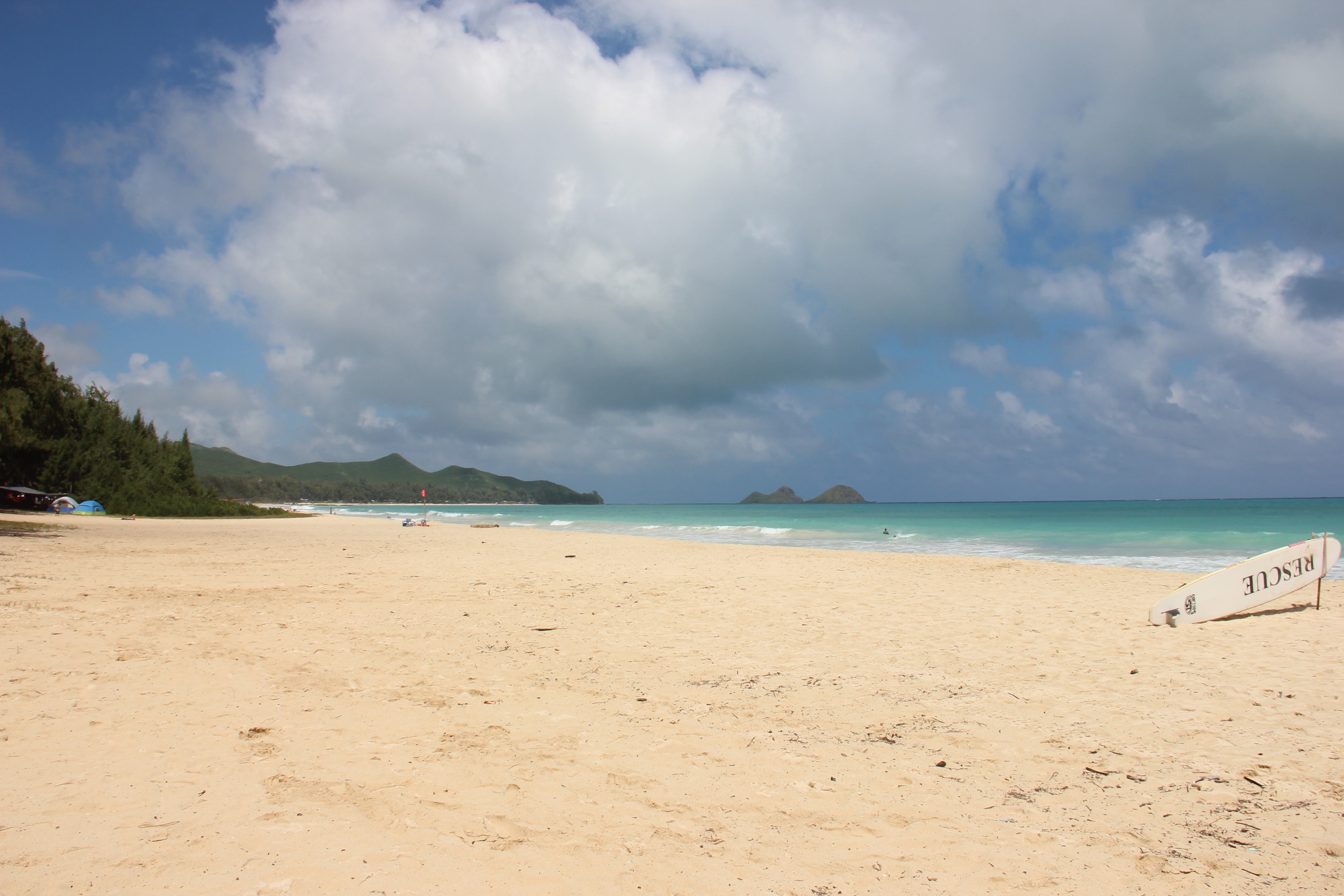 Bellows Field Beach Park, Oahu, Hawaii
