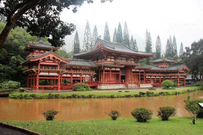 Byodo-In Temple Oahu, Hawaii | Японский монастый Бьодо-Ин, Оаху, Гаваи
