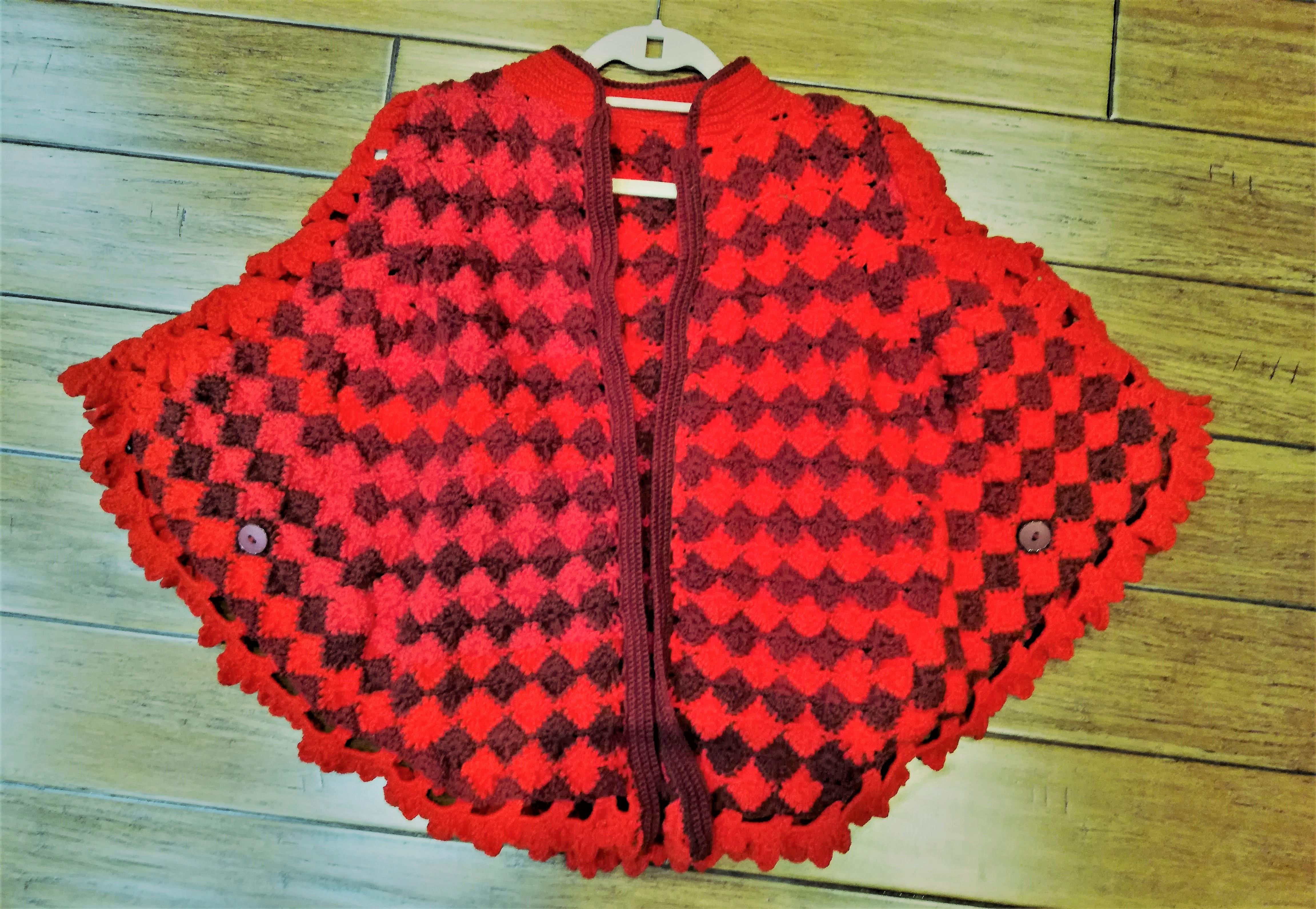 Кружевной кардиган, вязанный крючком, ручная работа | Crochet Lace cardigan