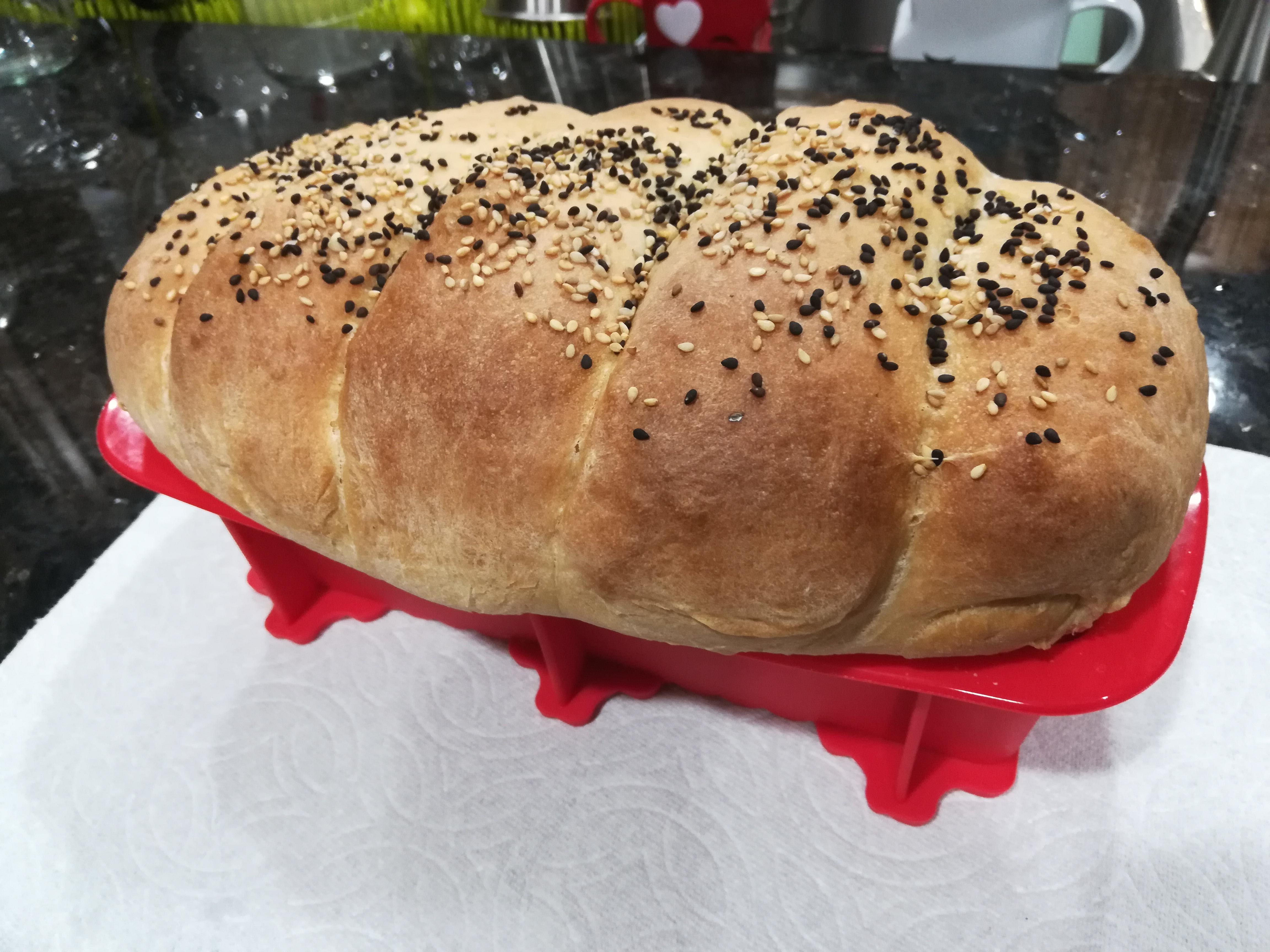 Японский молочный хлеб Hokkaido Shokupan Tangzhong рецепт
