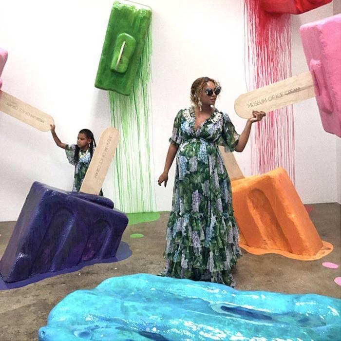 Beyonce в Музее мороженого в Сан Францисско, Museum of Ice Cream in San Francisco