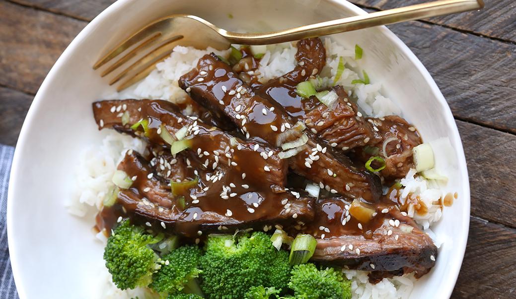 Mongolian Beef или говядина по-монгольски