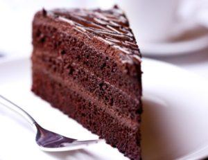 Влажный, сочный, нежный и ароматный шоколадный торт