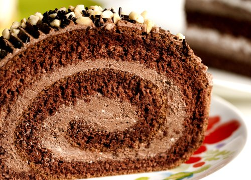 Шоколадный бисквитный рулет прага, Czech Chocolate Sponge Roll