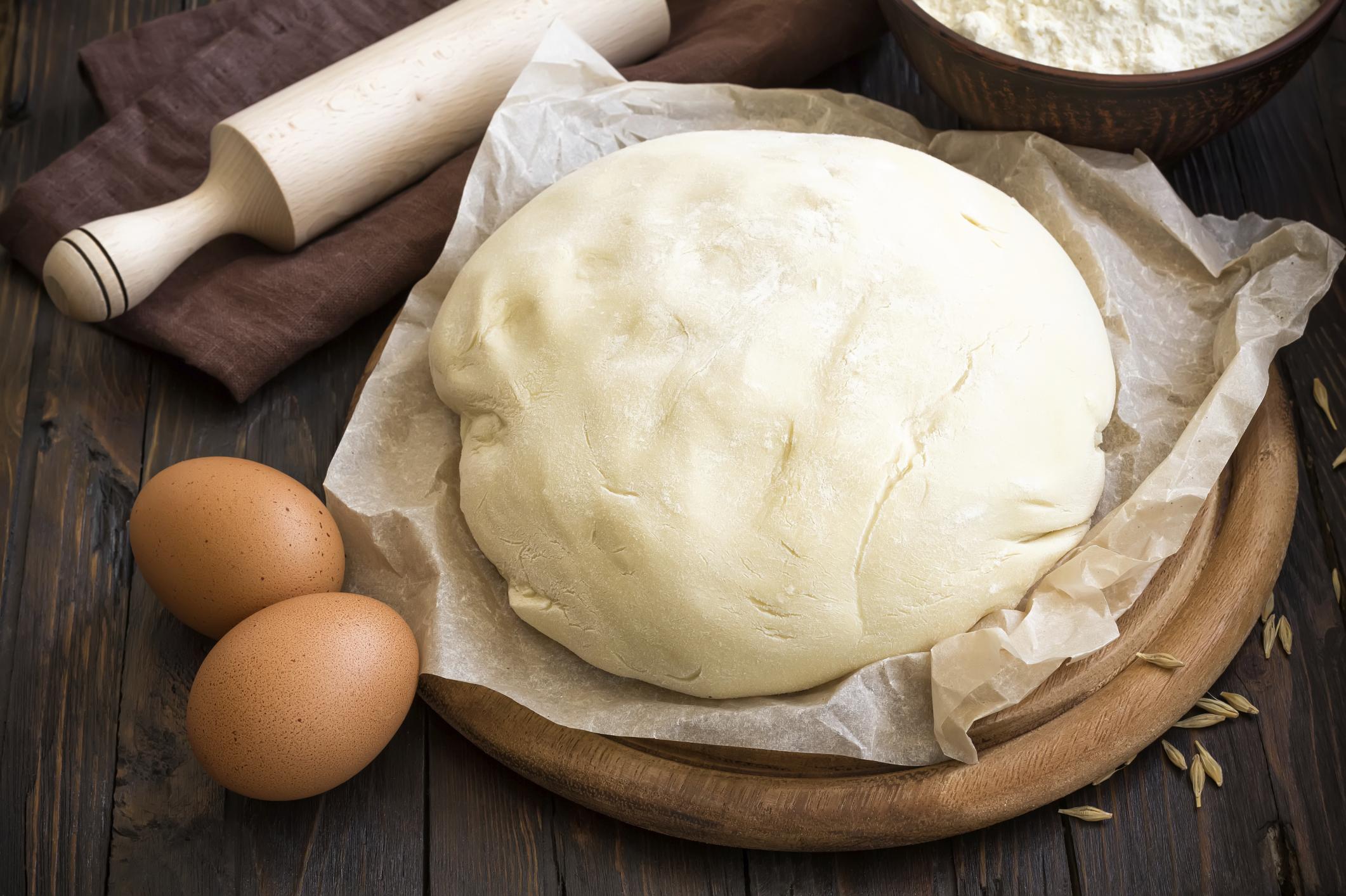 Молочно-маслянное заварное пельменное тесто