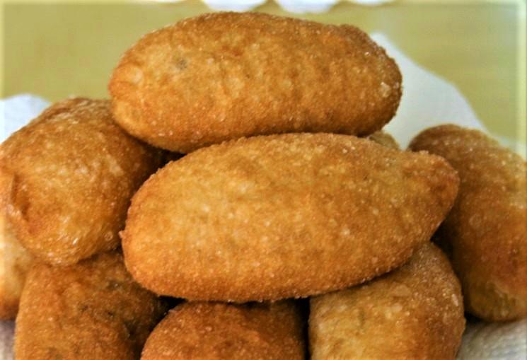 Пирожки по ГОСТу, deep fried pirozhki dough